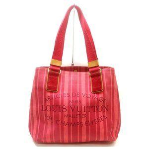 Louis Vuitton Rouge Plein Soleil Beach Cabas Bag
